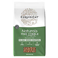 ExquisiCat® Naturals Pine Cobble Cat Litter