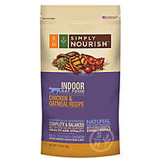 Simply Nourish® Indoor Cat Food - Natural, Chicken & Oatmeal