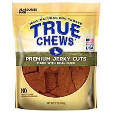 True Chews® Premium Jerky Cuts Dog Treat - Natural, Duck