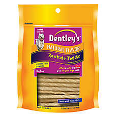 Dentley's® Rawhide Twists Dog Treat