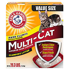 ARM & HAMMER™ Multi-Cat Extra Strength Cat Litter