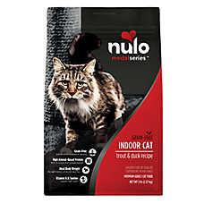 Nulo MedalSeries Indoor Adult Cat Food - Grain Free, Trout & Duck
