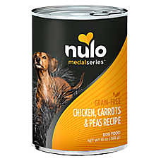 Nulo MedalSeries Dog Food - Grain Free, Chicken, Carrots & Peas