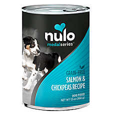 Nulo MedalSeries Dog Food - Grain Free, Salmon & Chickpeas