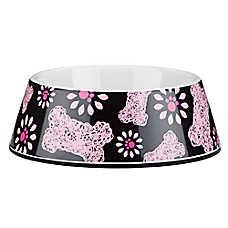 Top Paw® Scribble Bone Dog Bowl