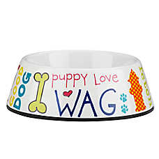 Top Paw® Words Dog Bowl