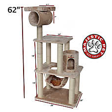 "Majestic Pet 62"" Casita Cat Tree"