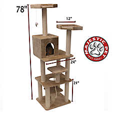 "Majestic Pet 78"" Casita Cat Tree"