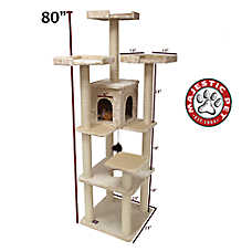 "Majestic Pet 80"" Casita Cat Tree"