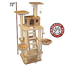 "Majestic Pet 72"" Casita Cat Tree"