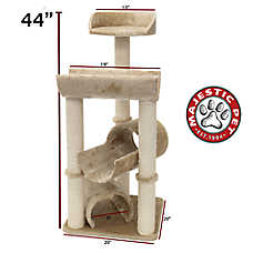 "Majestic Pet 44"" Casita Cat Tree"