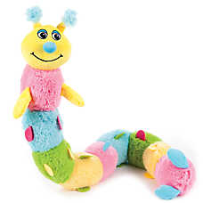 "Puppies""R""Us™ Caterpillar Squeaker Dog Toy"