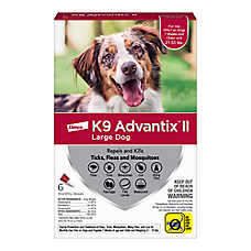 K9 Advantix® II 21-55 lbs Dog Flea & Tick Treatment