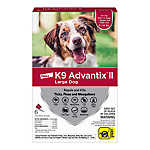 K9 Advantix® II 21-55 lbs Dog Flea & Tick Treatment