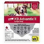 K9 advantix® II Over 21-55 Lb Dog Flea & Tick Treatment