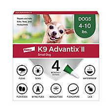 K9 advantix® II Under 10 Lb Dog Flea & Tick Treatment