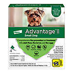 Advantage® II 3-10 lbs Dog Flea & Lice Treatment