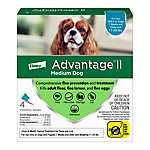 Advantage® II 11-20 lbs Dog Flea & Lice Treatment