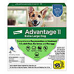 Advantage® II Over 55 lbs Dog Flea & Lice Treatment
