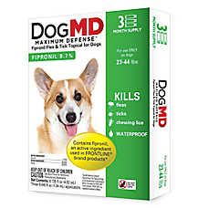 Dog MD™ Maximum Defense 23-44 Lb Dog Flea & Tick Treatment