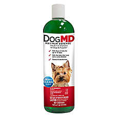 Dog MD Maximum Defense Flea & Tick Dog & Puppy Shampoo