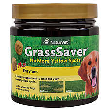 NaturVet GrassSaver Dog Chewable
