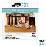 Martha Stewart Pets® 3 Panel Wood Pet Gate