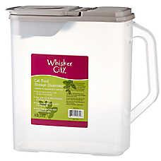 Whisker City® Cat Food Storage Dispenser