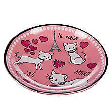 Whisker City® Paris Cat Saucer