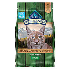 BLUE Wilderness® Rocky Mountain Recipe™ Grain Free Rabbit Adult Cat Food
