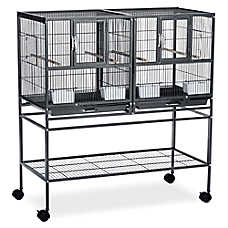 Prevue Pet Products Hampton Deluxe Breeder Bird Cage System
