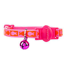 Whisker City® Fish Cat Collar - Glow in the Dark