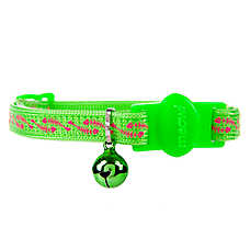 Whisker City® Fish Bone Cat Collar - Glow in the Dark