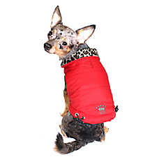 Hip Doggie Reversible Puffer Vest