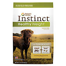 Nature's Variety® Instinct® RawBoost Healthy Weight Dog Food - Grain Free, Freeze Dried Raw, Chicken