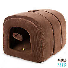 Martha Stewart Pets® Den Cat Bed