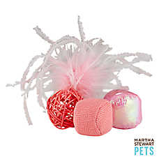 Martha Stewart Pets® Ball Value Pack Cat Toy
