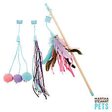 Martha Stewart Pets® Interchangeable Teaser Cat Toy