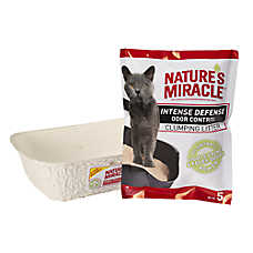 NATURE'S MIRACLE™ Disposable Prefilled Cat Litter Pan