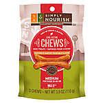 Simply Nourish™ Long-Lasting Chews Grain Free, Gluten Free, Chicken & Vegetable Medium Dog Tre