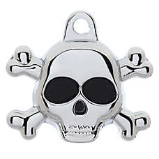TagWorks® Skull Personalized Pet ID Tag