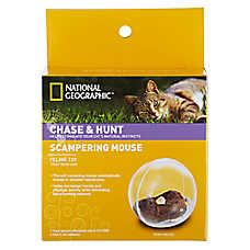 National Geographic™ Scampering Mouse Cat Toy