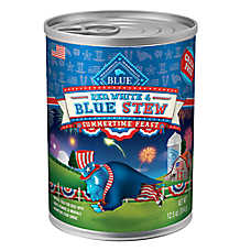 BLUE™ Red, White & Blue Dog Food