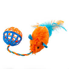 "Toys ""R"" Us® Pets Ball & Chain Mouse Cat Toy (COLOR VARIES)"