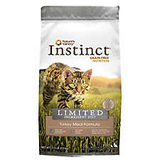 Nature's Variety® Instinct® Limited Ingredient Diet Cat Food - Grain Free, Turkey Meal