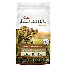Nature's Variety® Instinct® Cat Food - Grain Free, Duck & Turkey
