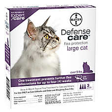Bayer Defense Care Over 9 Lb Cat Flea Protection