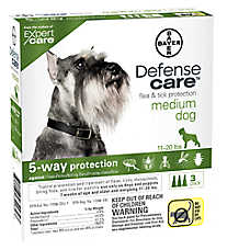 Bayer Defense Care 11-20 Lb Dog Flea & Tick Protection