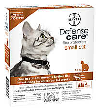 Bayer Defense Care 2-9 Lb Cat Flea Protection