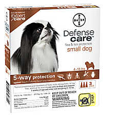 Bayer Defense Care 3-Pack Flea & Tick Dog Protection